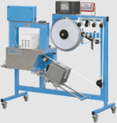 US 2000 TTP Automatic Banding Machine with Thermal Transfer for printing product information, bar codes, sell by dates etc,