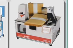 Paper/Film Benchtop/Tabletop Banding Machine, Portable, Heat Seal